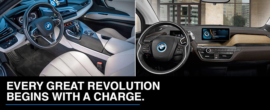 THE ELECTRIC SIDE OF BMW.