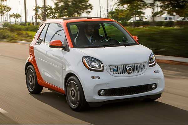2018 smart EQ Fortwo performance exterior