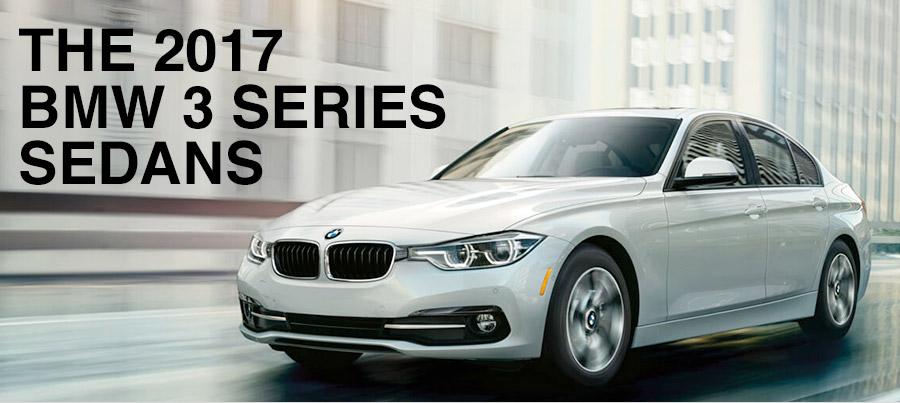 The 2017 BMW 3 Series Sedans