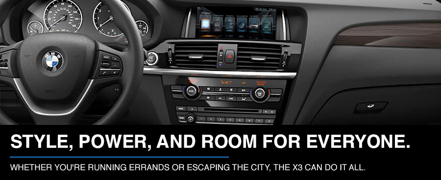 Experience The 2017 BMW X3 In Boston MA Interior