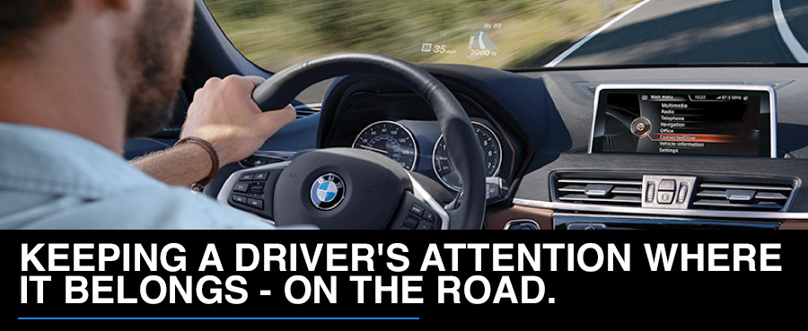 The BMW Head-Up Display