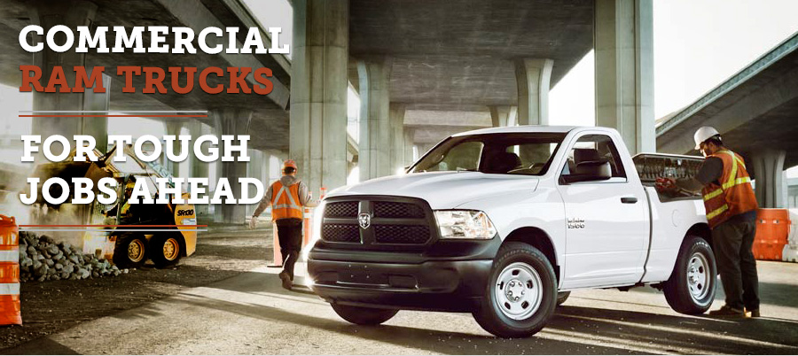 Commercial Ram Trucks