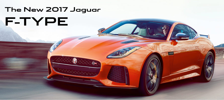 The New 2017 Jaguar F-TYPE