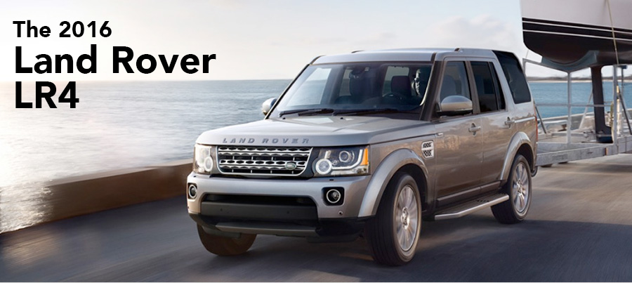 The 2016 Land Rover LR4