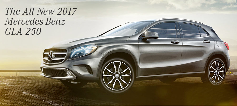 The 2017 GLA 4MATIC®