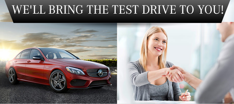 We'll Bring The Test Drive To You!