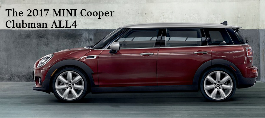 The 2017 MINI Cooper Clubman ALL4