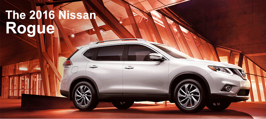 The 2016 Nissan Rogue