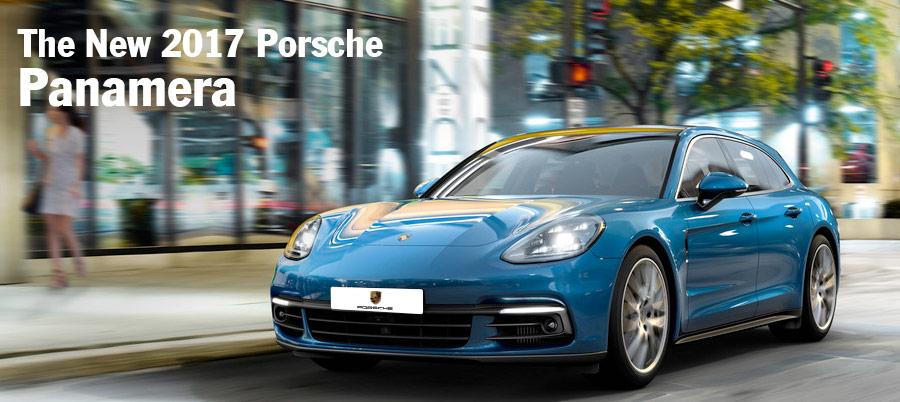 The New 2017 Porsche Panamera