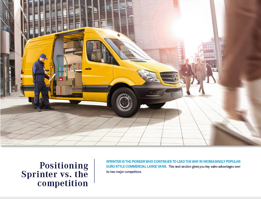 the sprinter vs the competition