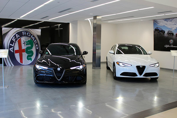Herb Chambers Alfa Romeo of Boston interior reception