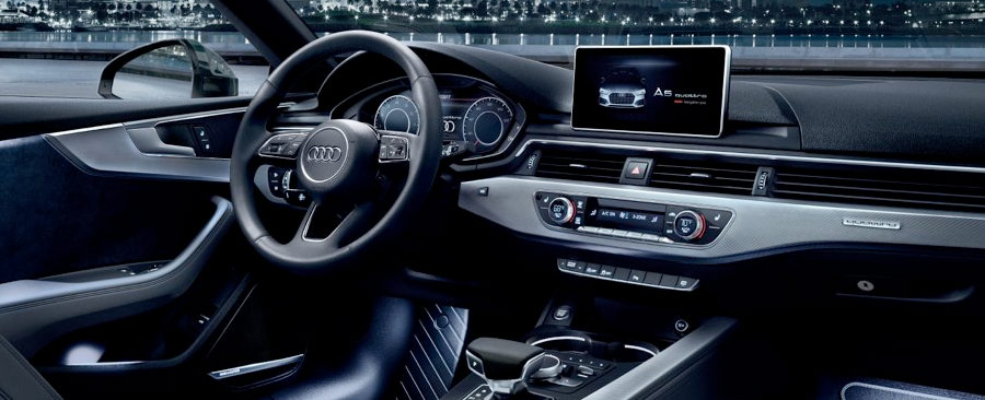 2018 Audi A5 Sportback entertainment