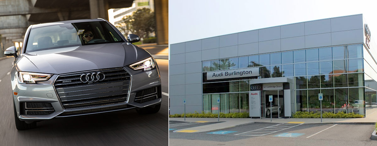 audi CPO A4 and audi burlington dealership