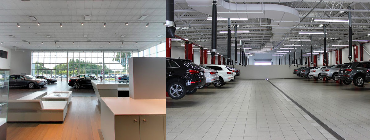 audi of Burlington service maintenance center