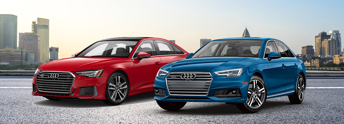 the 2019 Audi A4 and Audi A6 near Woburn, MA