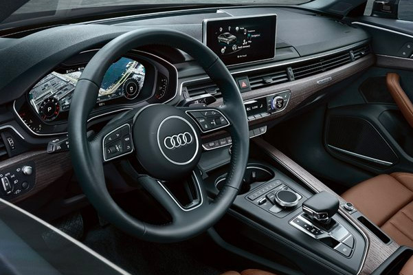 the 2019 Audi A4 Technology and Luxury