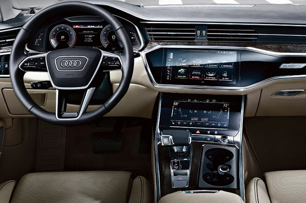 the 2019 Audi A6 Technology and Luxury