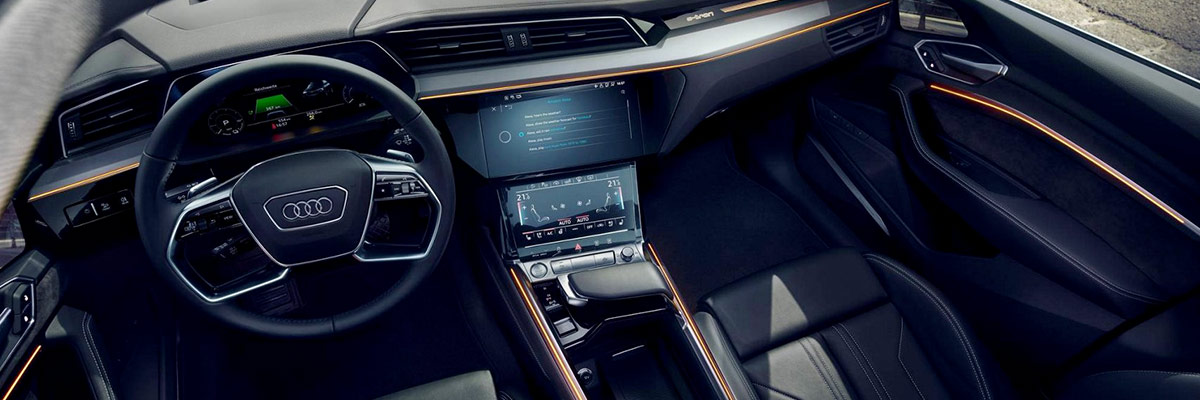 2019 Audi e-tron® Interior & Technology Features