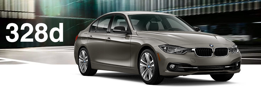 brown 2018 BMW 328d