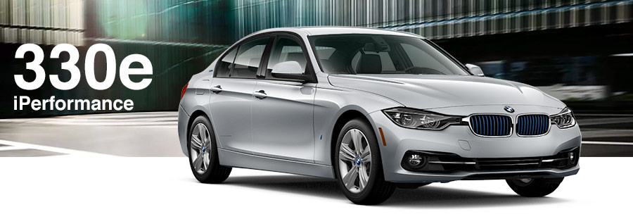 silver 2018 BMW 330e iPerformance