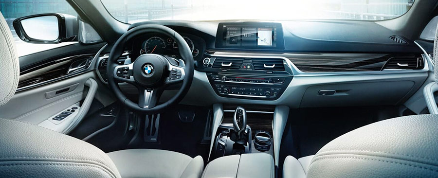 The 2018 BMW 5-Series interior