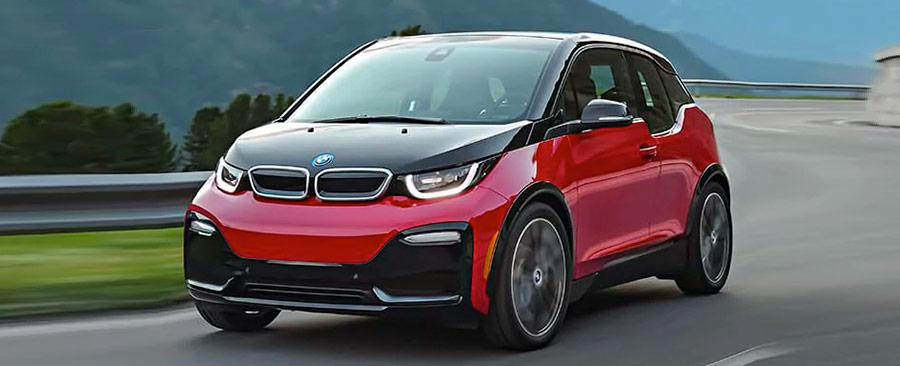 the 2018 BMW i3s