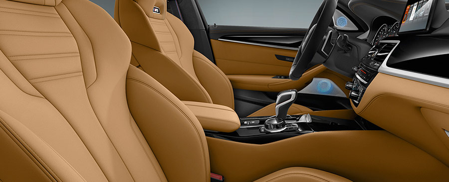 BMW m5 luxury interior
