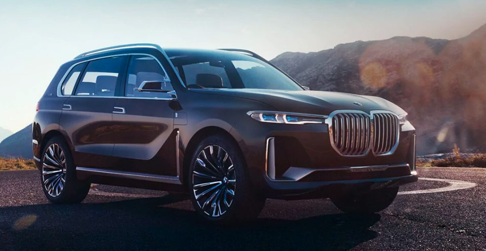 brown 2019 BMW x7