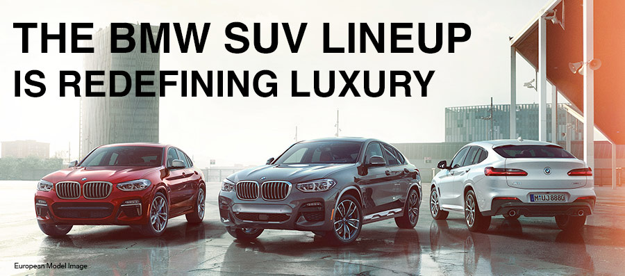 2018 BMW SAV line up on cold weather