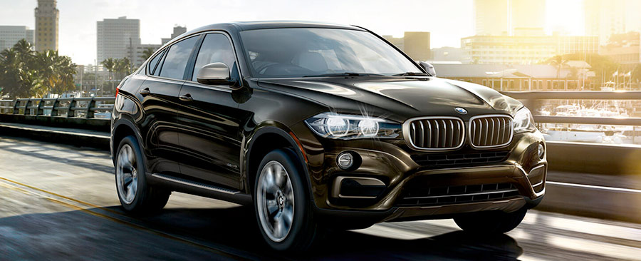 black brown BMW X6