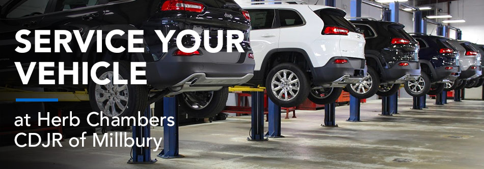 Service Your Vehicle at Herb Chambers CDJR of Millbury