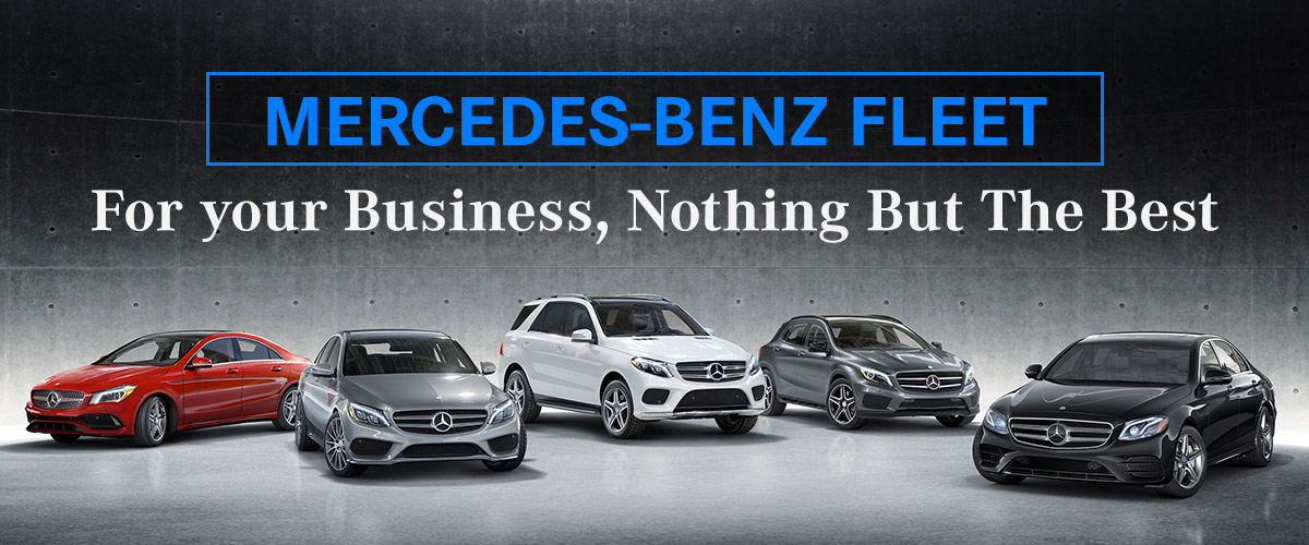 Mercedes-Benz Corporate Fleet Program