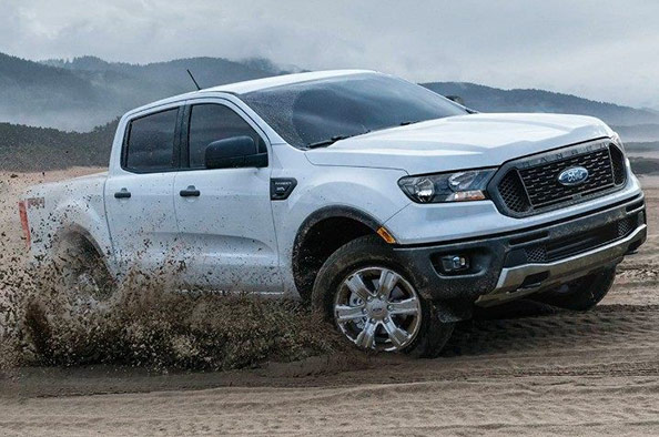 the 2019 Ford Ranger perfomance and power