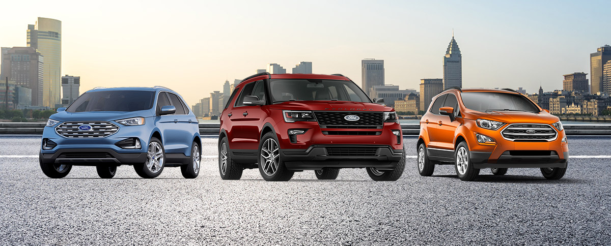 New Ford SUV for Sale Header