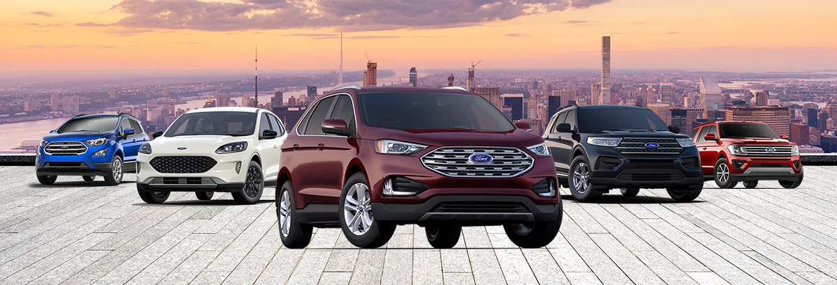 New 2020 Ford SUV Lineup near Boston, MA Header