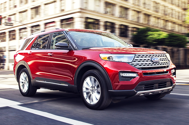 Buy or Lease a New 2020 Ford Explorer near Worcester, MA