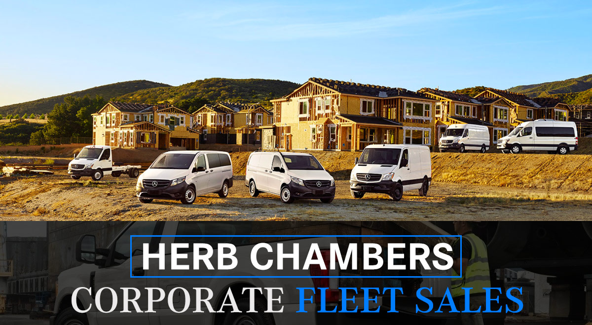 corporate fleet of commercial vehicles