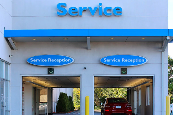 Herb Chambers Honda of Seekonk service reception