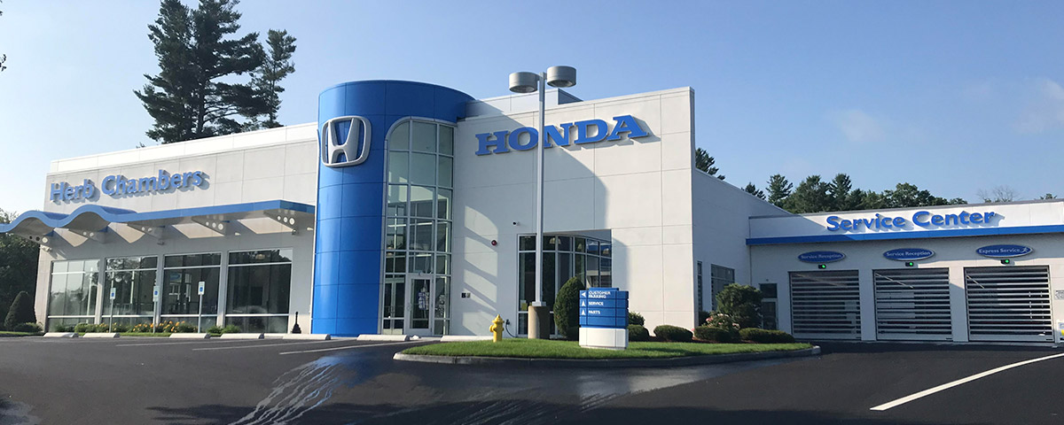 Herb Chambers Honda of Westborough header
