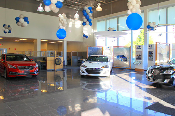 Herb Chambers Hyundai of Auburn interior reception