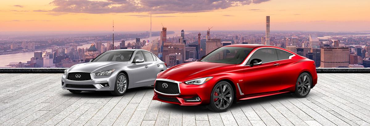 New 2020 INFINITI Coupes & Sedans near Worcester, MA Header