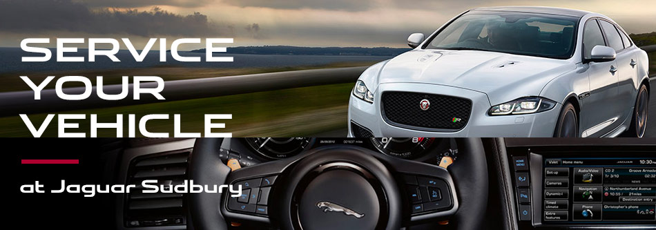 Service your vehicle at Jaguar Sudbury
