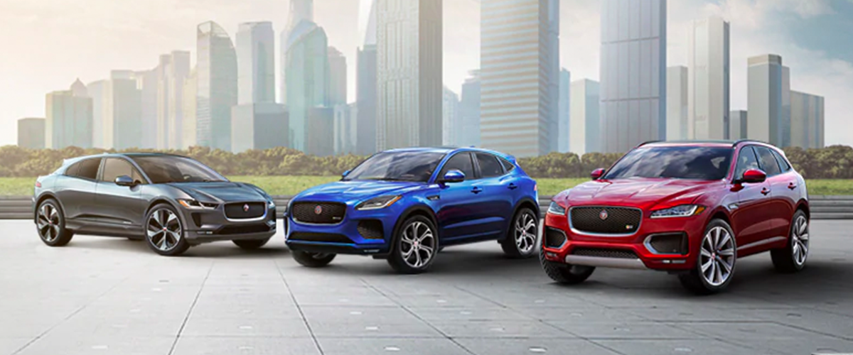 2019 Jaguar Lineup header