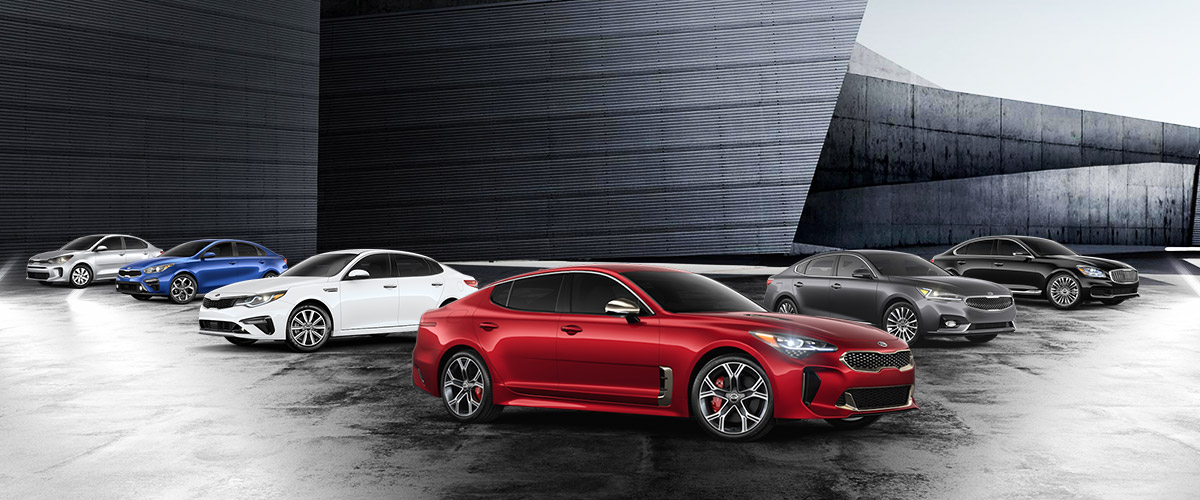 Lease a New Kia Sedan in Burlington, MA