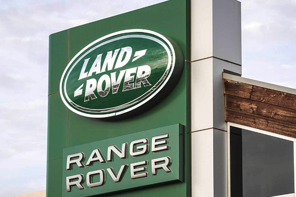 Land Rover Collision Repair center