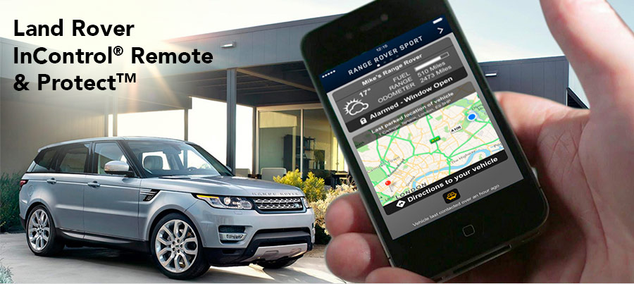Land Rover InControl® Remote & ProtectTM