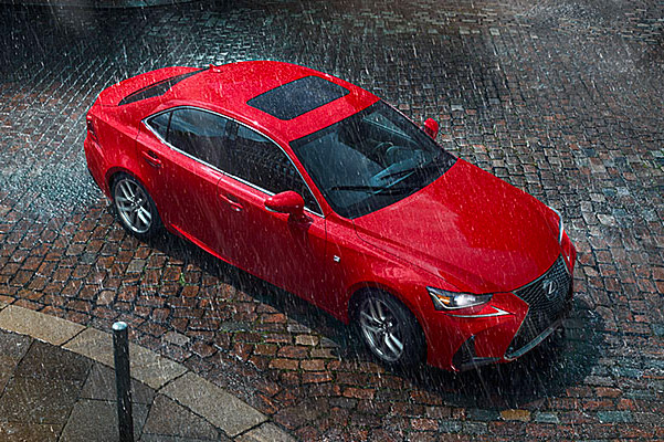 red 2019 Lexus IS 300 exterior