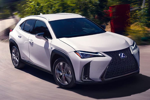 New 2019 Lexus UX All-wheel drive