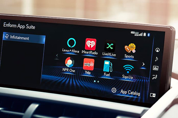 Lexus Enform App Suite & App Suite 2.0 Information