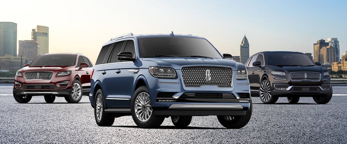 Buy a New Lincoln SUV near Newton, MA Header
